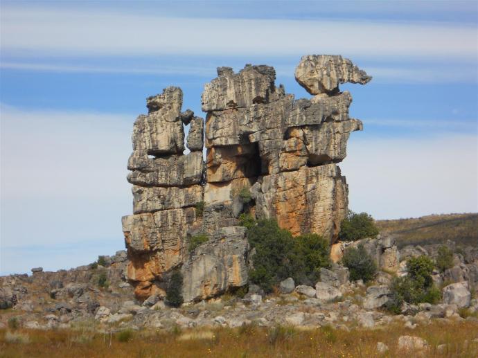 Groot Winterhoek rocks